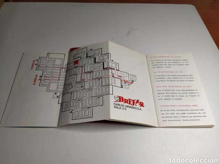 Juguetes antiguos: Agenda brekar 15 feria juguete valencia - Foto 4 - 197903873