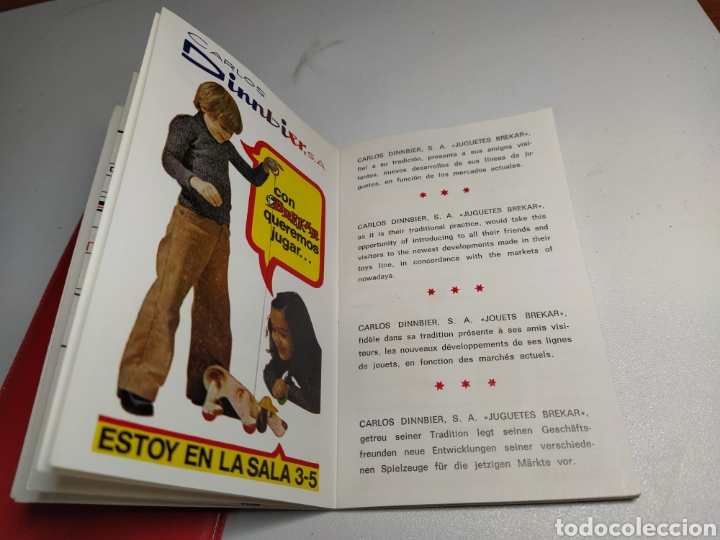 Juguetes antiguos: Agenda brekar 15 feria juguete valencia - Foto 5 - 197903873