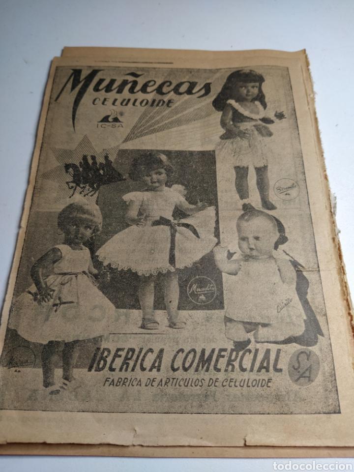 Juguetes antiguos: Recorte publicidad juguetes gozan juguetes vercor y muñecas celuloide - Foto 2 - 197904682