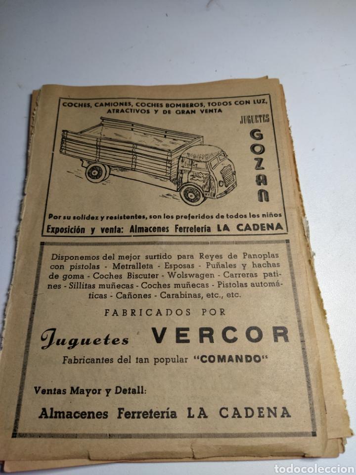 RECORTE PUBLICIDAD JUGUETES GOZAN JUGUETES VERCOR Y MUÑECAS CELULOIDE (Juguetes - Catálogos y Revistas de Juguetes)