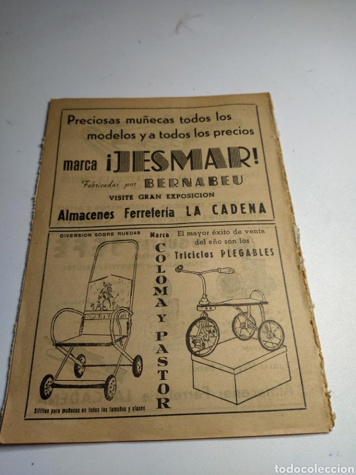 Juguetes antiguos: Recorte publicidad juguetes rico.juguetes jefe jesmar y Coloma y pastor - Foto 2 - 197904927