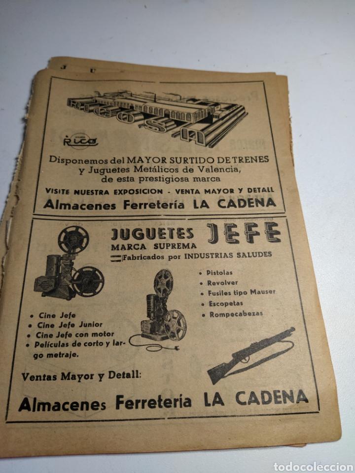 RECORTE PUBLICIDAD JUGUETES RICO.JUGUETES JEFE JESMAR Y COLOMA Y PASTOR (Juguetes - Catálogos y Revistas de Juguetes)