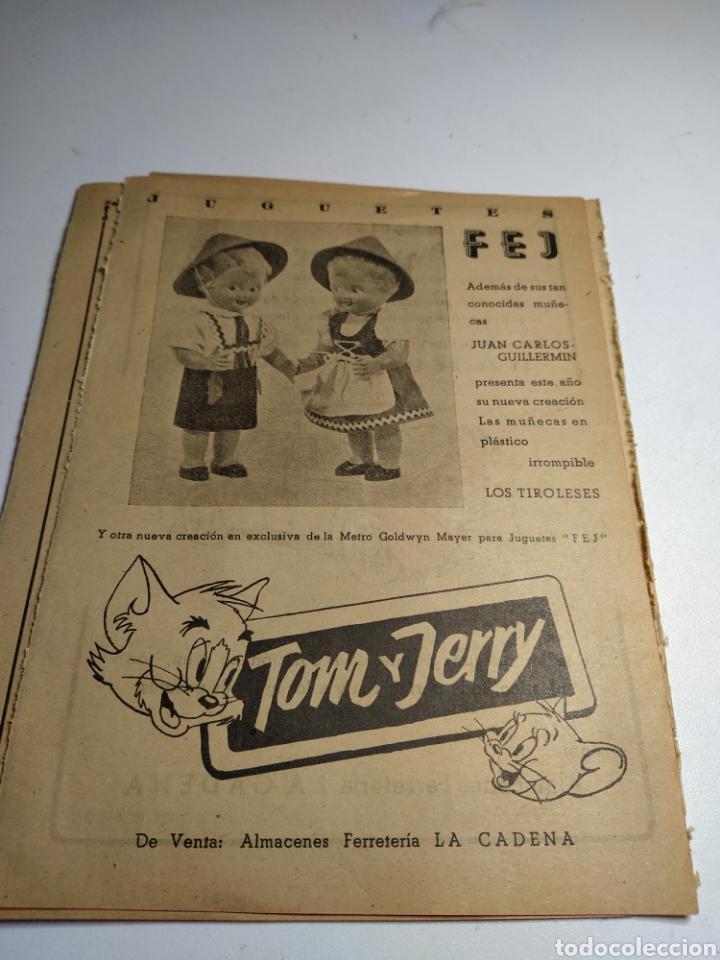 Juguetes antiguos: Recorte publicidad juguetes jyesa y juguetes fej - Foto 2 - 197905163