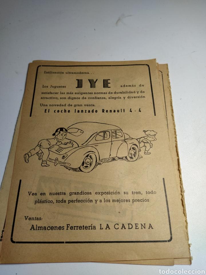 RECORTE PUBLICIDAD JUGUETES JYESA Y JUGUETES FEJ (Juguetes - Catálogos y Revistas de Juguetes)