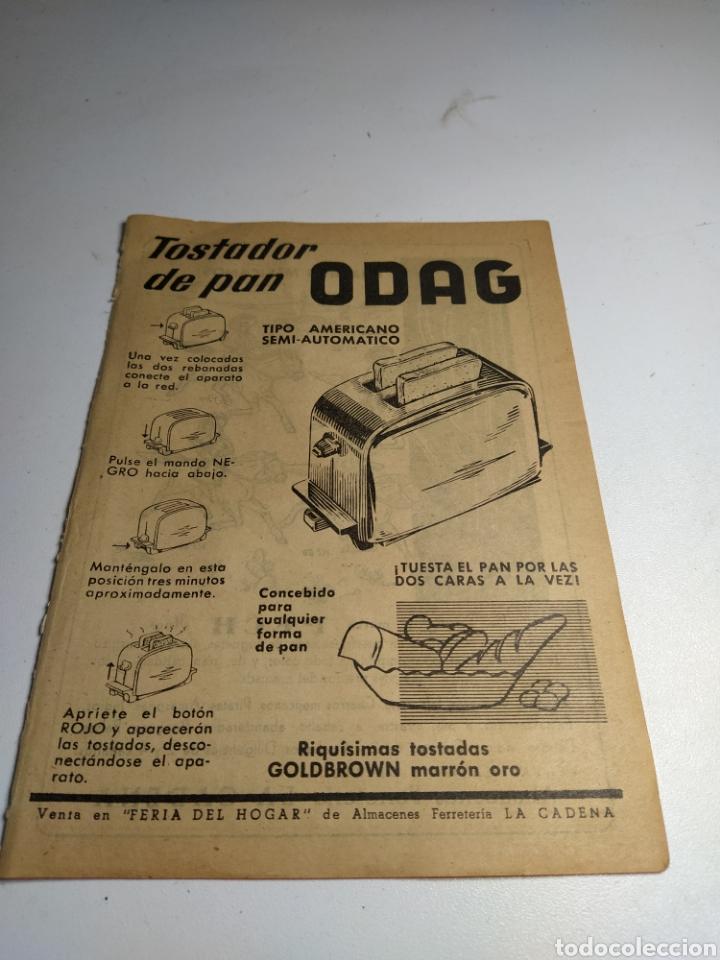 Juguetes antiguos: Recorte publicidad juguetes pech y tostador odag - Foto 2 - 197905335