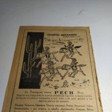Giocattoli antichi: RECORTE PUBLICIDAD JUGUETES PECH Y TOSTADOR ODAG. Lote 197905335