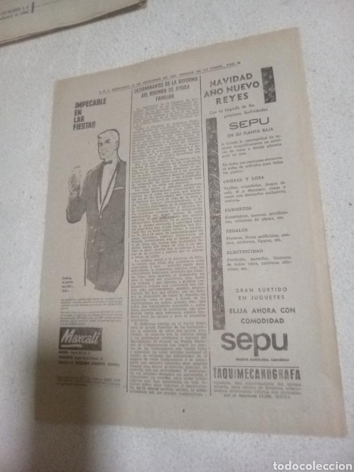 RECORTE PERIÓDICO PUBLICIDAD AÑOS 60 (Juguetes - Catálogos y Revistas de Juguetes)