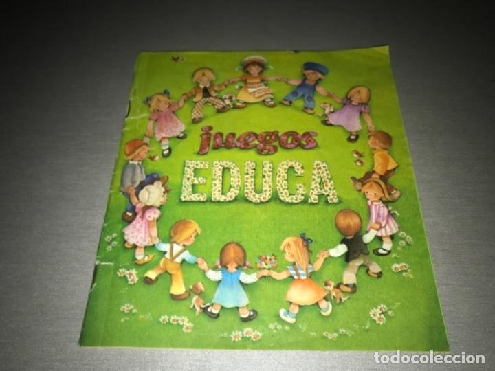 CATALOGO DE JUEGOS EDUCA AÑO 81 1981 MUY RARO (Juguetes - Catálogos y Revistas de Juguetes)