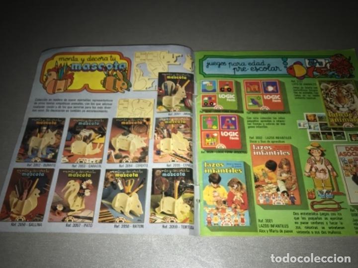 Juguetes antiguos: Catalogo de juegos Educa año 81 1981 MUY RARO - Foto 2 - 198639958