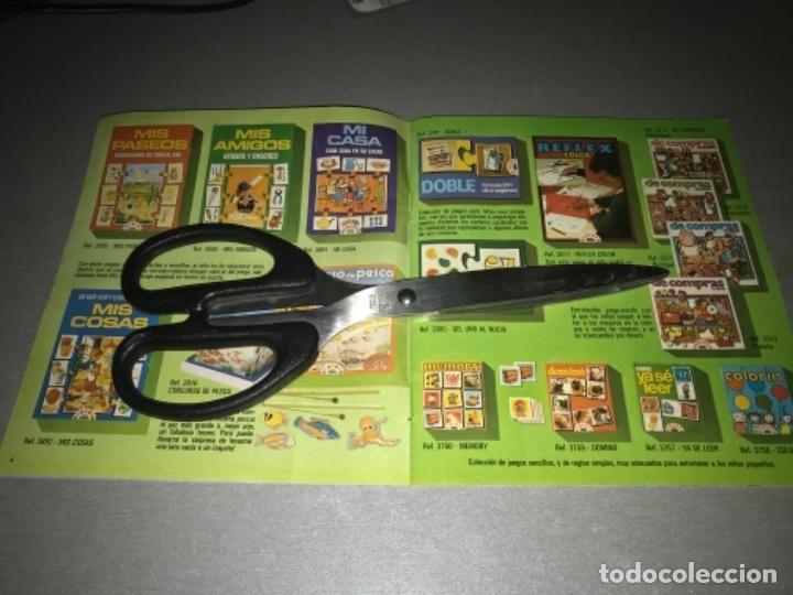 Juguetes antiguos: Catalogo de juegos Educa año 81 1981 MUY RARO - Foto 3 - 198639958