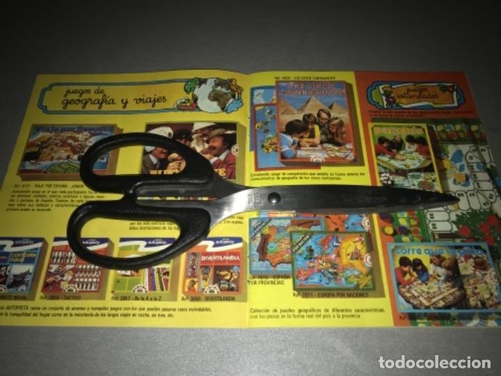 Juguetes antiguos: Catalogo de juegos Educa año 81 1981 MUY RARO - Foto 4 - 198639958