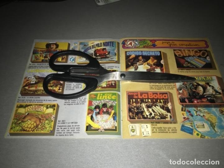 Juguetes antiguos: Catalogo de juegos Educa año 81 1981 MUY RARO - Foto 5 - 198639958