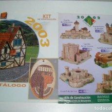 Brinquedos antigos: CATALOGOS KIT DE CONSTRUCCION 2003. Lote 200371490