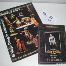 Brinquedos antigos: CATALOGO EL VIEJO DRAGON MINIATURAS 2001. Lote 48416991
