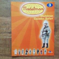 Brinquedos antigos: MADELMAN ALTAYA FASCICULO N° 3 CAZADOR SAFARI COMO NUEVO AÑO 2003. PTOY. Lote 203875258
