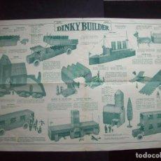 Juguetes antiguos: FOLLETO JUGUETES DINKY BUILDER.. Lote 204054798