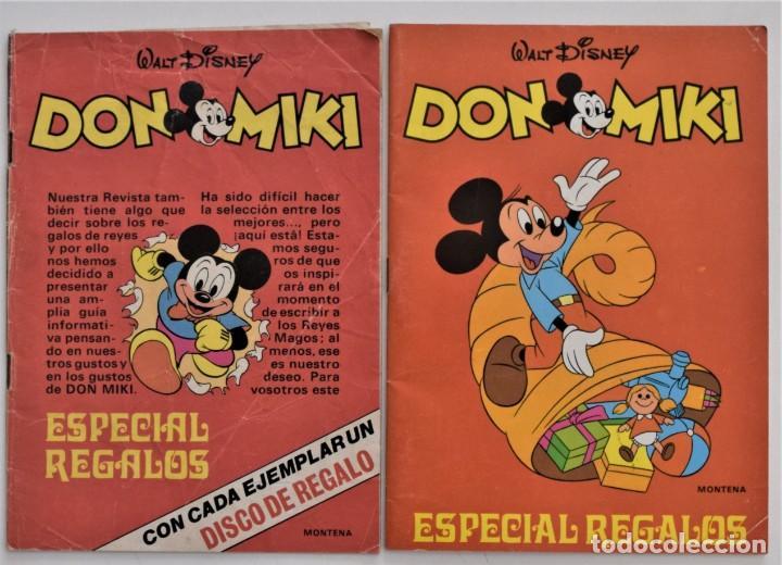 DOS CATÁLOGOS DE JUGUETES ESPECIAL REGALOS DON MIKI AÑOS 1975 Y 1978 (Juguetes - Catálogos y Revistas de Juguetes)