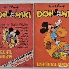 Juguetes antiguos: DOS CATÁLOGOS DE JUGUETES ESPECIAL REGALOS DON MIKI AÑOS 1975 Y 1978. Lote 205280455