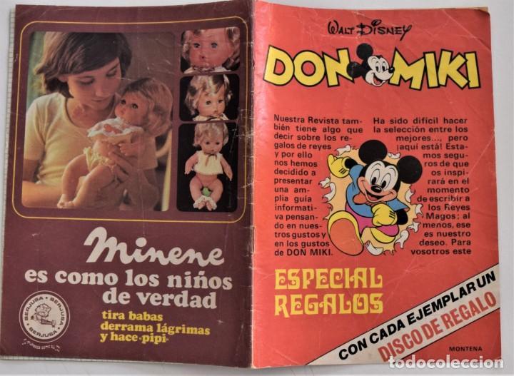 Juguetes antiguos: DOS CATÁLOGOS DE JUGUETES ESPECIAL REGALOS DON MIKI AÑOS 1975 Y 1978 - Foto 2 - 205280455