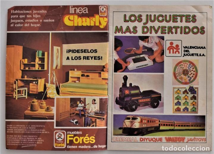 Juguetes antiguos: DOS CATÁLOGOS DE JUGUETES ESPECIAL REGALOS DON MIKI AÑOS 1975 Y 1978 - Foto 3 - 205280455