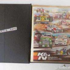 Juguetes antiguos: SCALEXTRC - ALBUM RIGIDO DE 102 PAGINAS CON MODELOS, CICUITOS, Y COMETARIOS - VER FOTOS Y DESCRIPCIO. Lote 205408648