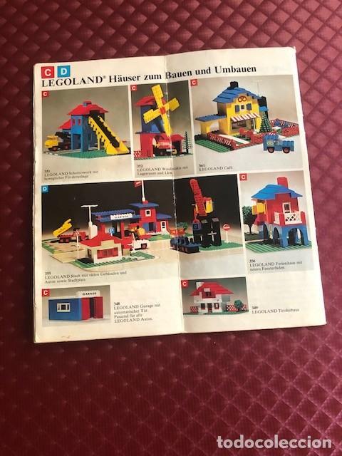 Juguetes antiguos: CATALOGO DE LEGO EN ALEMAN C1 - Foto 2 - 205683897