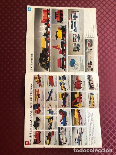 Juguetes antiguos: CATALOGO DE LEGO EN ALEMAN C1 - Foto 5 - 205683897