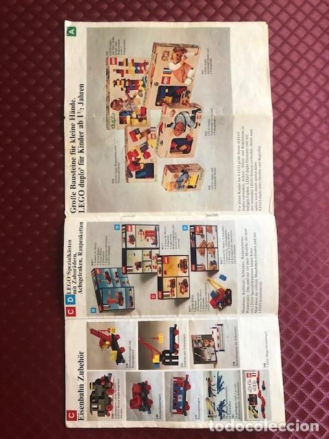 Juguetes antiguos: CATALOGO DE LEGO EN ALEMAN C1 - Foto 6 - 205683897