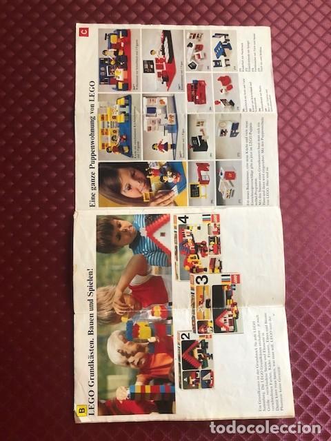 Juguetes antiguos: CATALOGO DE LEGO EN ALEMAN C1 - Foto 7 - 205683897