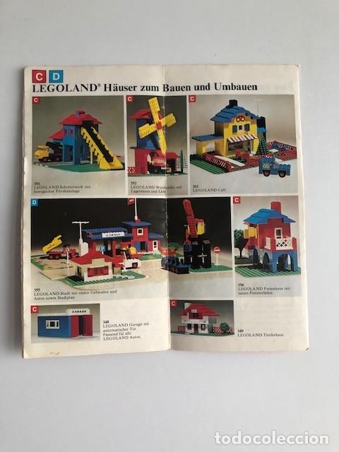 Juguetes antiguos: CATALOGO DE LEGO EN ALEMAN C1 - Foto 8 - 205683897