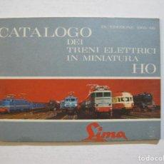 Juguetes antiguos: CATALOGO DEL TREN ELECTRICO EN MINIATURA-MARCA SIMA-PUBLICIDAD ANTIGUO-VER FOTOS-(V-20.284). Lote 206181336