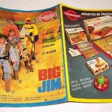 Jouets Anciens: CATÁLOGO DE BIG JIM DE CONGOST DE 1976.. Lote 206224917