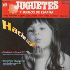 Juguetes antiguos: JUGUETES Y JUEGOS DE ESPAÑA Nº 141 DE 1997. Lote 206276516