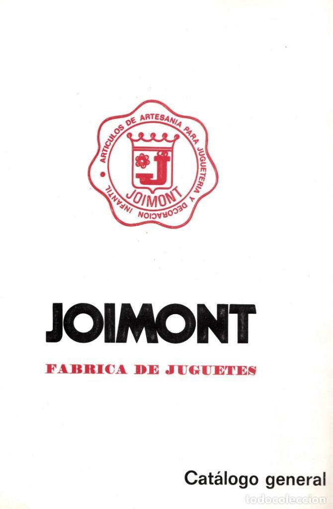 CATALOGO JOIMONT, EN COLOR MUÑECAS DORMILONES ARTESANÍA. 1979 ÚNICO EN TODOCOLECCION. (Juguetes - Catálogos y Revistas de Juguetes)