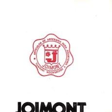 Juguetes antiguos: CATALOGO JOIMONT, EN COLOR MUÑECAS DORMILONES ARTESANÍA. 1979 ÚNICO EN TODOCOLECCION.. Lote 206290756