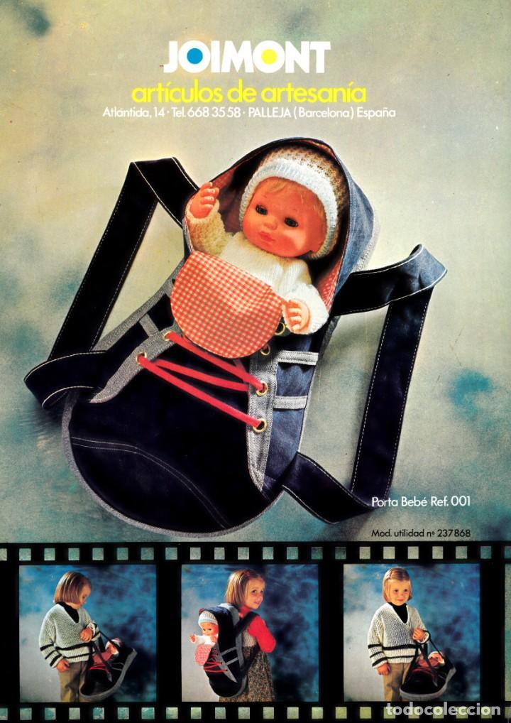 Juguetes antiguos: Catalogo Joimont, en color muñecas dormilones artesanía. 1979 Único en todocoleccion. - Foto 2 - 206290756