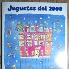 Juguetes antiguos: CATÁLOGO DE JUGUETES EL CORTE INGLÉS 2000. 200 PÁGINAS. IMPECABLE. Lote 206294162