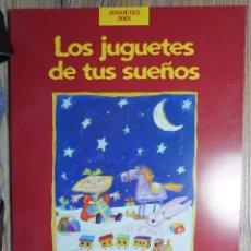 Juguetes antiguos: CATÁLOGO DE JUGUETES EL CORTE INGLÉS 2001. CASI 200 PÁGINAS. IMPECABLE. Lote 206294228