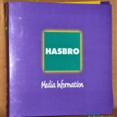 Giocattoli antichi: DOSIER HASBRO MEDIA INFORMATION 1997 .KENNER. MILTON BRADLEY. PLAYSKOOL, TONKA, PARKER BROTHERS. Lote 206326373