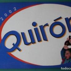 Juguetes antiguos: CATALOGO DE JUGUETES FAMOSA QUIRON AÑO 2002. Lote 206556345