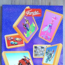 Jouets Anciens: CATÁLOGO PROFESIONAL TIENDA FAMOSA 1995. MICROMACHINES. MICRO MACHINES. JUGUETES. COCHES COCHECITOS. Lote 206994508