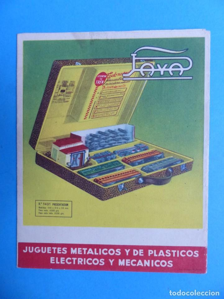 Juguetes antiguos: 15 catalogos y revistas antiguas de juguetes, trenes, coches, motos, Paya, años 1950-1980, ver fotos - Foto 43 - 207109090