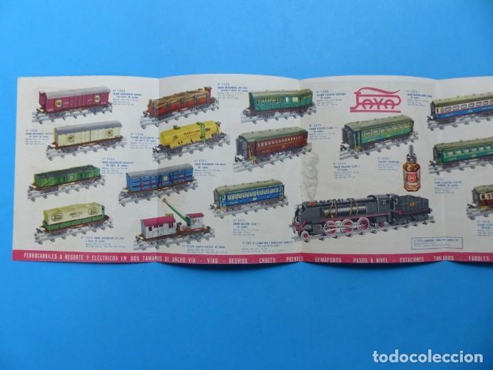 Juguetes antiguos: 15 catalogos y revistas antiguas de juguetes, trenes, coches, motos, Paya, años 1950-1980, ver fotos - Foto 44 - 207109090