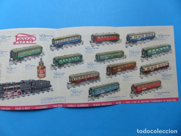 Juguetes antiguos: 15 catalogos y revistas antiguas de juguetes, trenes, coches, motos, Paya, años 1950-1980, ver fotos - Foto 45 - 207109090