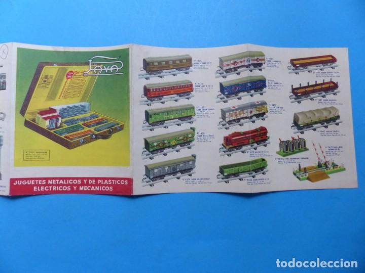 Juguetes antiguos: 15 catalogos y revistas antiguas de juguetes, trenes, coches, motos, Paya, años 1950-1980, ver fotos - Foto 46 - 207109090