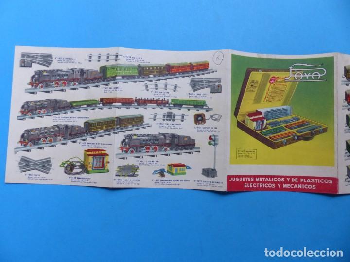 Juguetes antiguos: 15 catalogos y revistas antiguas de juguetes, trenes, coches, motos, Paya, años 1950-1980, ver fotos - Foto 47 - 207109090