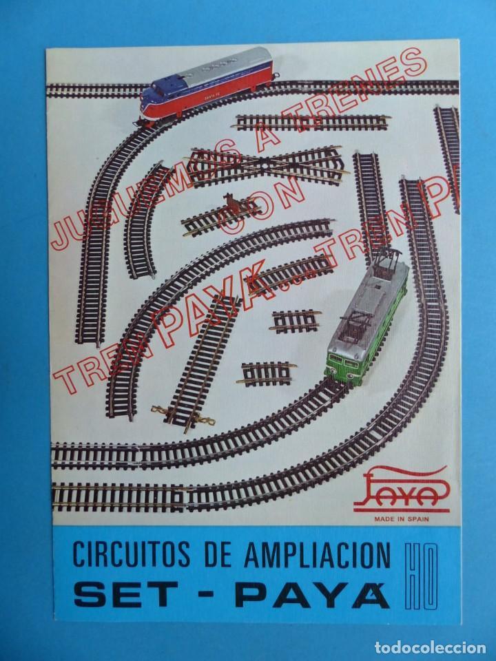 Juguetes antiguos: 15 catalogos y revistas antiguas de juguetes, trenes, coches, motos, Paya, años 1950-1980, ver fotos - Foto 94 - 207109090