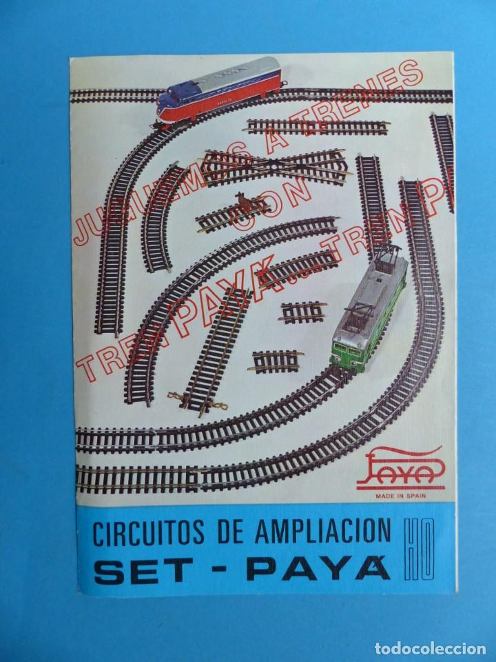 Juguetes antiguos: 15 catalogos y revistas antiguas de juguetes, trenes, coches, motos, Paya, años 1950-1980, ver fotos - Foto 98 - 207109090
