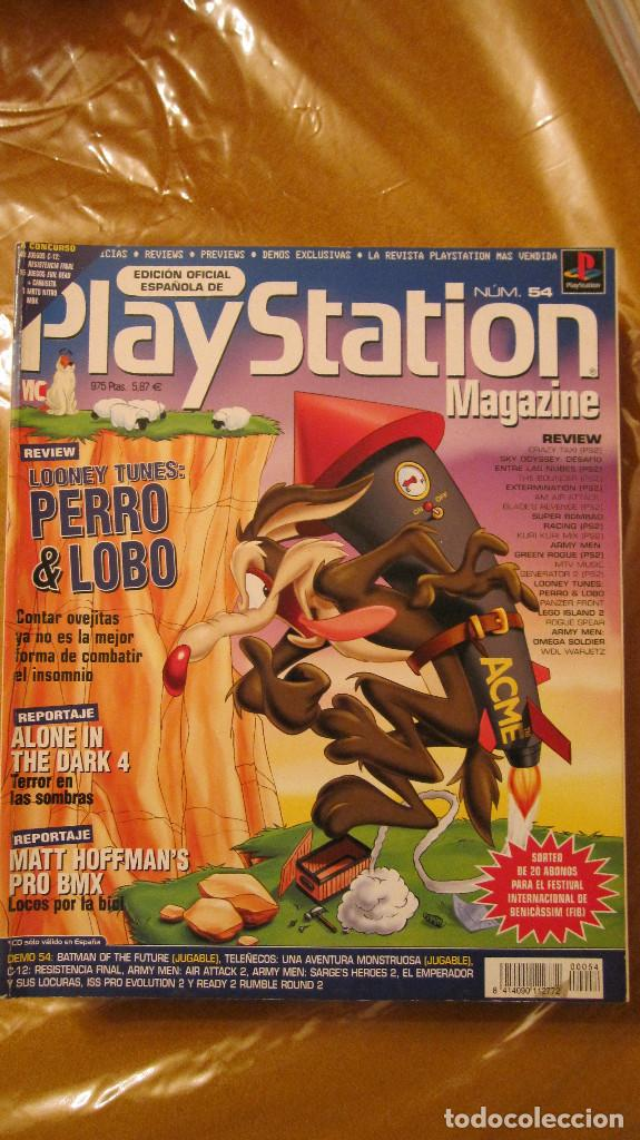 REVISTA PLAYSTATION MAGAZINE Nº 54 (Juguetes - Catálogos y Revistas de Juguetes)
