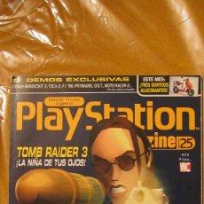 Juguetes antiguos: REVISTA PLAYSTATION MAGAZINE Nº 25. Lote 207113631